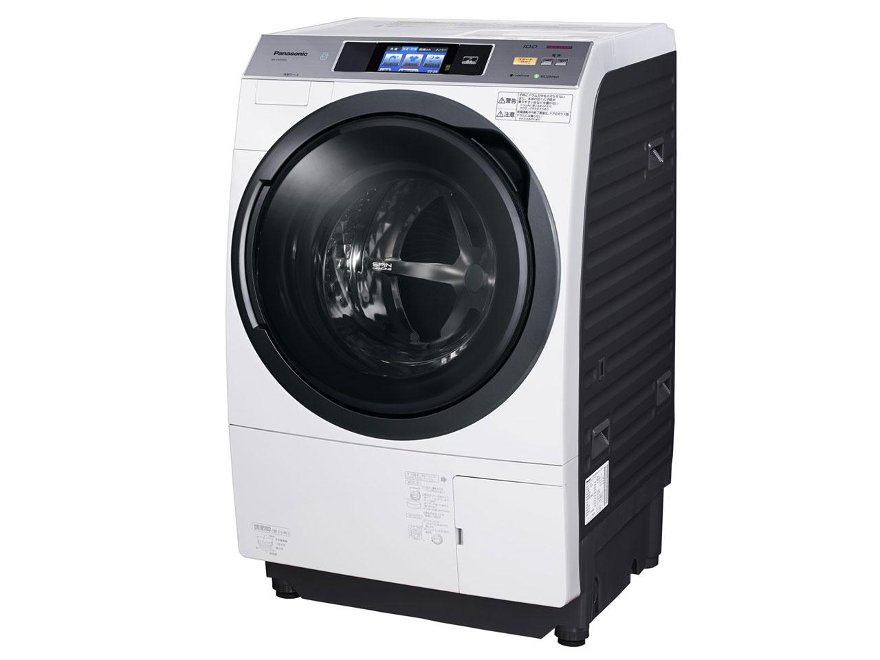 Máy giặt Panasonic NA-VX9300 Màn Hình LCD Cảm Ứng, giặt nước nóng, sấy khô  - Hàng Nhật Bãi 123